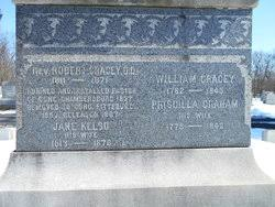 Priscilla Graham Gracey (1778-1842) - Find A Grave Memorial