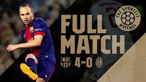 Barça 4-0 Milan (12-13) Full match