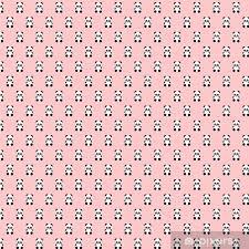 polka dots pink background