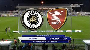 FUTBOL - Serie B 15/16 - Spezia vs. Salernitana - 01/02/2016