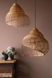 beautiful spiral shell shaped rattan
