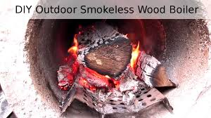 diy outdoor wood boiler wood burning