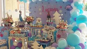 Ideas Para Fiesta De Frozen Cumpleanos De Frozen