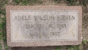 Adele Wilson Kirven (1863-1907) - Find A Grave Memorial
