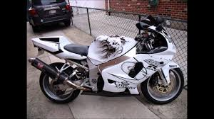 custom white 2000 suzuki gsx r 750 with