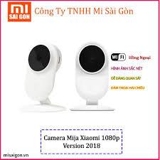 Camera giám sát Mijia ip 1080p hồng ngoại góc nhìn 130 độ ( Năm 2018)