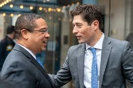 Minneapolis Mayor Jacob Frey greets newly elected Attorney… | Flickr