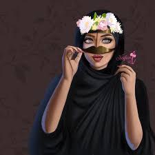 صور بنات انمي محجبات رمزيات كرتونيه بنات بالحجاب