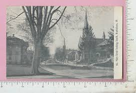 A189 Main St. Brattleboro, VT postcard Ada Jacobs 124 S Marshal Ave.  Norfolk, VA | eBay