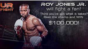 Roy Jones Jr. will fight fan with $100K on the line