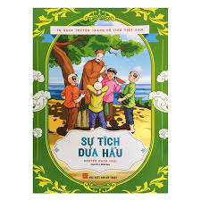 Tủ Sách Truyện Tranh Cổ Tích Việt Nam - Sự Tích Dưa Hấu - Truyện kể cho bé  Tác giả Nguyễn Mạnh Thái