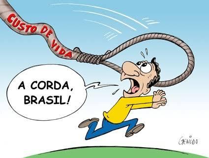 Resultado de imagem para brasileiro com a corda no pescoço