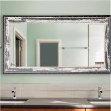 contemporary bathroom mirror