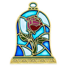 stained glass enchanted rose