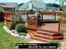Pool Fence Ideas For Above Ground Fences Ideas For Swimpool Youtube