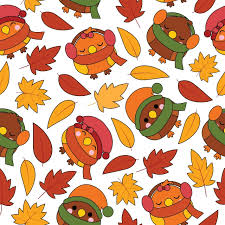 seamless pattern with cute birds and