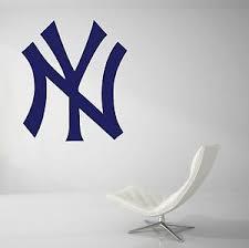New York Yankees Mlb Wall Decal Vinyl Decor Living Room Car Sticker Art J143 Ebay