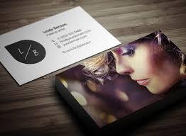 makeup artist name card design