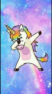 dab unicorn wallpaper