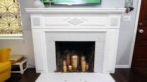 fireplace friendly diy candle holders