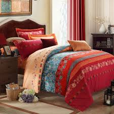 bohemian style bedding best room