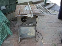 Rouge River Workshop A Rockwell Delta 10 Table Saw