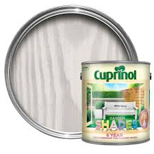 Cuprinol Garden Shades White Daisy Matt Wood Paint 2 5 Departments Diy At B Q