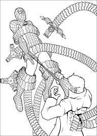 Spiderman Kleurplaat Printen 43