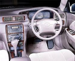 toyota camry ce le xle interior wood