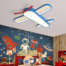 Airplane Light For Kids Room Bedroom Ceiling Light Baby Boy Children Room Ceiling Light Lighting Fixture Child Room Ceiling Lamp Ceiling Lights Aliexpress