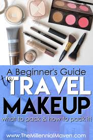 makeup easy travel makeup routine