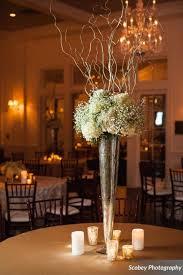 tall mercury glass vase centerpiece