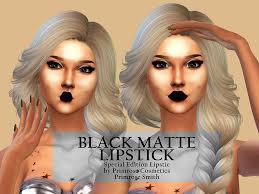primrosesmith s black matte lipstick
