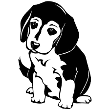 1pc 10 3 15 2cm Beagle Dog Vinyl Decal Cute Reflective Car Stickers Car Styling Decoration 6 Colors Wish
