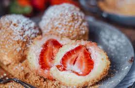 Einfache Topfenknödel ohne Zucker - carinaberry.com