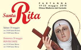 Partanna, presso la chiesa del Carmelo si festeggerà Santa Rita da ...