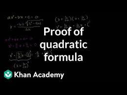 quadratic formula explained article