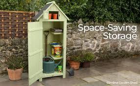 christow slimline garden shed outdoor