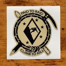 Assault Climber Decal Paid To Raid