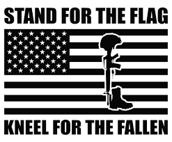 Stand For The Flag Kneel For The Fallen Patriotic Car Or Etsy Window Vinyl Vinyl Decal Stickers Vinyl Decals