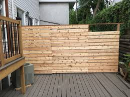 Hintonburg Townhouse Deck And Fence With Right Of Way Removable Panels Modern Exterior Ottawa By The House Guru