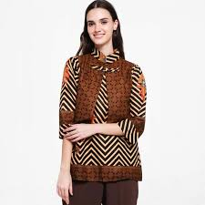 Harganya pun nggak mahal dan praktis untuk digunakan. 30 Model Baju Batik Kombinasi Dress Gamis Polos Atasan
