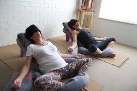 Sound Meditation & Restorative Yoga with Tabatha Smith & Rebekah Ray @  Living Yoga Sanga - Sep 16 2018, 3:30PM