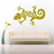 Honduras Caribbean Lizard Vinyl Car Window Decal Sticker