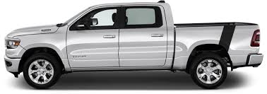 Dodge Ram 1500 Le Mans Bedside Stripes Vinyl Decal Graphic Striping Kit Fits Years 2019 2020 2021