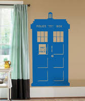 Police Box Beautiful Wall Decals