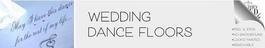 Dance Floor Decals Wedding Decorations The Simple Stencil