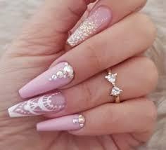 nail art designs diamond nails inspo