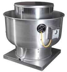bdu centrifugal upblast belt drive