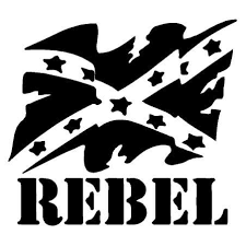 Rebel Flag Vinyl Decal Sticker Confederate Flag Decals Stickers Country Boy Customs Store